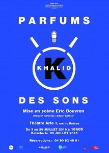 Khalid K, parfums des sons