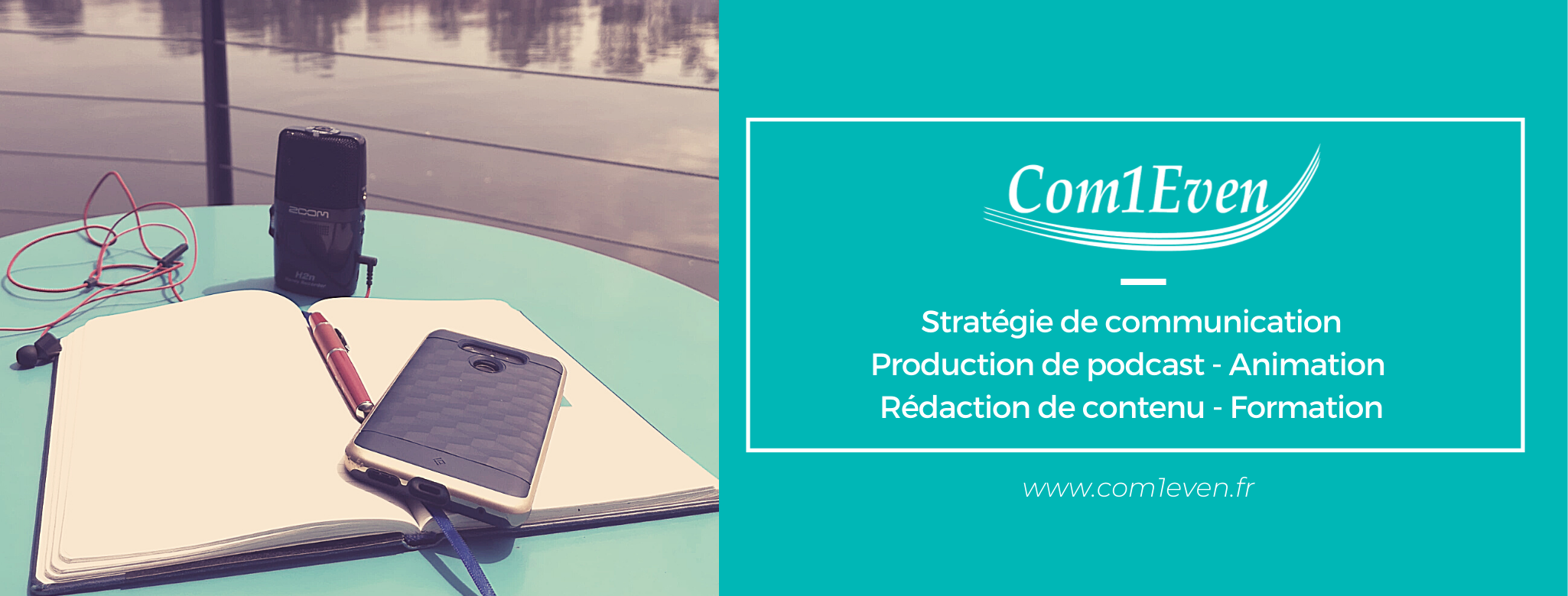 Com1Even, agence de communication et production de podcast dans le Vaucluse