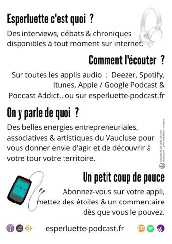 Qu'est-ce qu' Esperluette, le podcast créé par Marie-Cécile Drécourt ?